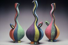 Michael Sherrill: Lovely color expression. The forms are dancing!  www.porcelainbyAntoinette.com