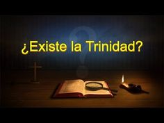"""Almighty God's Word """"Does the Trinity Exist? Christian Videos, Christian Movies, Trinidad, Saint Esprit, Destroyer Of Worlds, Word Of God, God Is, God Jesus, Jehovah"""