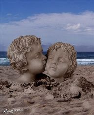 Sand kiss (awesommmeee website btw noted in the pic)