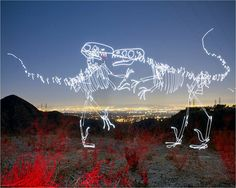 Light Fossils by Darius Twin (Darren Pearson) Light Painting, Twins, Artsy, Neon Signs, Lighting, Science, Sick, Blog, Passion