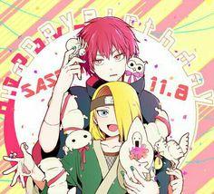 Sasori and Deidara Itachi, Naruto Uzumaki, Naruto Anime, Naruto Cute, Sasunaru, Sasori And Deidara, Deidara Akatsuki, My Little Pony, Deidara Wallpaper