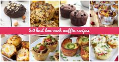 To counteract the carb overload while still getting to enjoy your morning muffin, here are fifty nutritious low-carb muffin recipes.