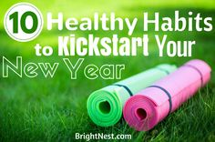 Discover 10 ways to reduce stress and promote healthy habits this year.