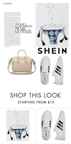 """Bez naslova #215"" by alisalisss ❤ liked on Polyvore featuring adidas and Givenchy"