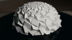 #3DPrinted fibonacci zoetrope #Sculpture by John Edmark. | #3DPrinting #Animation #Motion