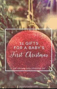 11 Gifts For A Baby's First Christmas - Keepsakes | eBay Guides