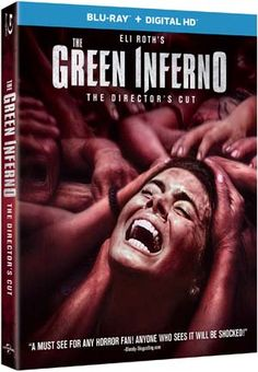 5 Things About The Green Inferno Blu-ray - #TheGreenInferno giveaway coming soon