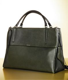 Such an elegant bag, love it. The Coach Large Borough Bag in Pebbled Leather #ABrilliantSeason