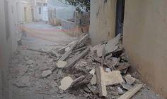 Μέρος κτηρίου κατέρρευσε στην περιοχή της Αγίας Τριάδας στο Ηράκλειο και το ευτύχημα είναι πως δεν τραυματίστηκε κανείς.Περισσότερα...