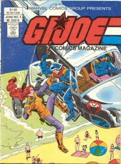 G.I. Joe Comics Magazine (Marvel, 1986) #4  [digest sized magazine that reprints GI Joe: Real American Hero #9, #10, and #11]