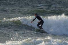 Wellenreiten auf Fehmarn
