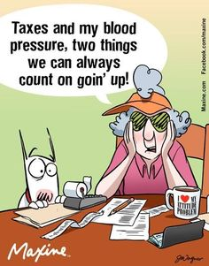 Taxes & Blood Pressure