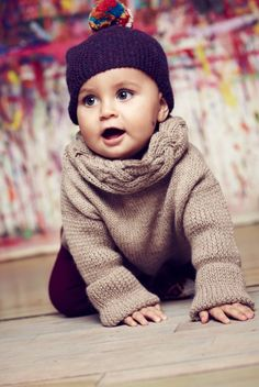 Cute baby knits from Cabbages and Kings for fall/winter 2014