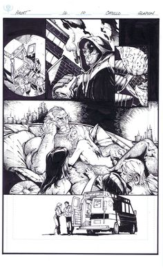 Big Pimpin - Pencil by Greg Capullo & Ink by Jonathan Glapion