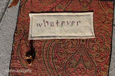 Whatever,  Funky Wall Art Bohemian style wall art by Ommazinglife on Etsy. This is simple and elegant peace flag or simple saying for your wall.
