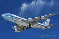 How can you not be awed by this? Air Force One, the Boeing with the designation Boeing operated by the US Air Force, on approach to LAX; August, Photo of ✈ FlightAware Used Aircraft, Boeing Aircraft, Us Air Force, Air Force Ones, Military Jets, Military Aircraft, Military Pictures, Commercial Aircraft, Bus