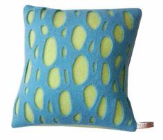 Blue Peep Designer Cushion By La La Loop | Swanky Maison