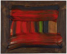 "Howard Hodgkin  In the Shade 2015 - 2016 15 1/2 x 19 1/4"", 39.4 x 48.9cm Oil on wood"