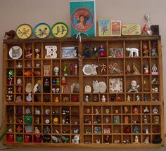 TINY THINGS SHADOW BOX NUMBER 1 by toypincher, via Flickr