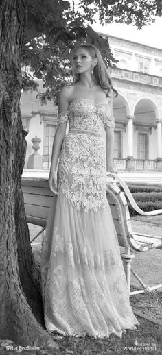 Netta BenShabu 2016 Wedding Dress