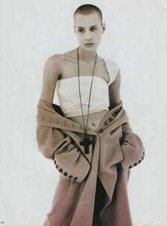 Le religioni, circa 1993 Photographer: Jean-Baptiste Mondino Model: Ève Salvail
