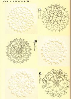 Japanese crochet motifs with diagrams crochet pinterest crochet patterns book motifs edgings picasa web albums ccuart Gallery