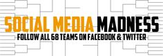 An in-depth directory of all 68 teams in the NCAA tournament on Twitter & Facebook.
