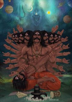 Kali Hindu, Hindu Art, Shiva Sketch, Om Art, Shiva Tattoo Design, Lord Shiva Statue, Lord Shiva Hd Images, Monkey Art, Ganesha Pictures