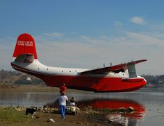The gigantic Martin Mars aircraft, the world's largest flying water bomber and the last of its kind, will make its first trip to Wisconsin to participate at EAA AirVenture Oshkosh Airplane Flying, Flying Boat, Amphibious Aircraft, Float Plane, Aviation Art, Amphibians, Military Aircraft, Ciel, Diy Paper