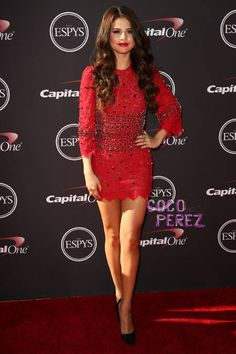 Selena Gomez wows in Dolce and Gabbana at the ESPYS!