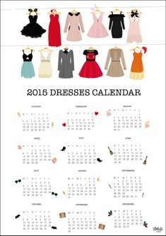 2015 calendar.