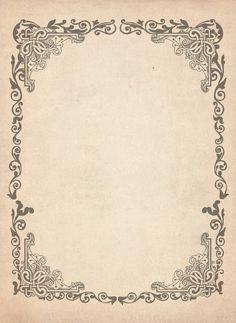 Images d'autrefois: Papier ancien