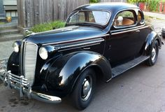 1937 Dodge Coupe, back when they built more than a product !!!