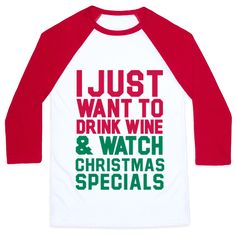 I just want to drink wine and watch Christmas specials. What better way to spend the holiday season and with your favorite things.