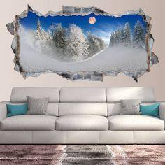 ¡ Disfruta del Invierno con estas maravillosas vistas ! No los encontrarás a mejor precio, ni de mejor calidad. Cómpralos aquí ᐅ www.viniloscasa.com/vinilos-3d