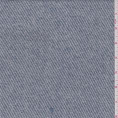 Denim Blue/Ecru Coating - 35020 - Fabric By The Yard At Discount Prices