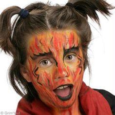 Maquillage de diablesse facile à faire