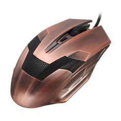 Green Hornet Bronze Gaming Mouse