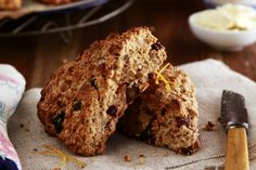 Wholemeal Date and Orange Scones