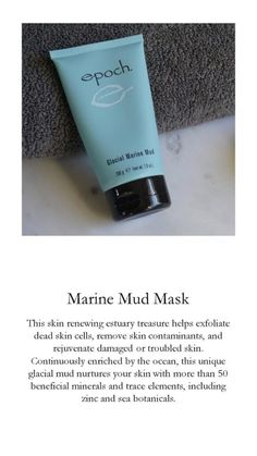 Marine Mud Mask, Healthy Skin Care, Your Skin, How To Remove, Epoch, Skincare, Beauty, Diamond, Business