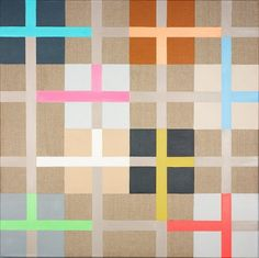 José Heerkens - Luminous Square XII  almost plaid
