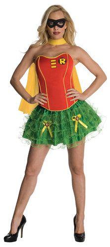 Sexy Robin Corset Tutu Costume Robin Costumes - Mr. Costumes