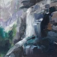 Cathy Layzell is a painter based in Cape Town. Exploring, Waterfall, Abstract Art, African, Painting, Painting Art, Waterfalls, Paintings, Explore