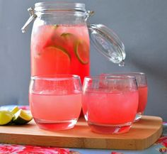 How to Summer Cocktail Hour  Watermelon Refresher