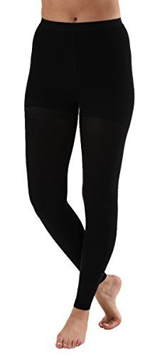 56b338a844 Get firm support with a pair of these Footless Compression Stockings with  Control Top. Compression