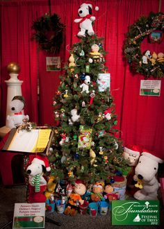 Awesome Snoopy tree from last year's Festival of Trees! Enjoy free entrance to a weekend of family fun at this year's #FOTColumbia2013 on November 23 and 24!