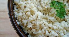 Aprendam a fazer o arroz nutritivo. Uma receita que amo!!!