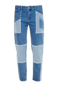 30 Non-Basics All Fashion Girls Have #refinery29  http://www.refinery29.com/non-basic-fashion-items#slide-27  The Patchwork JeanPatchwork is back with a vengeance, and there's no reason not to swap your everyday baby blues for a more on-trend pair.House Of Holland Patchwork Boyfriend Jean, $415.94, available at Far...