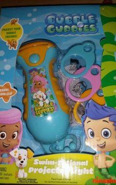 bubble guppies gil molly projector light flashlight night light nightlight new