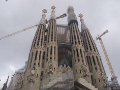 La Sagrada Familia  Barcelona  España